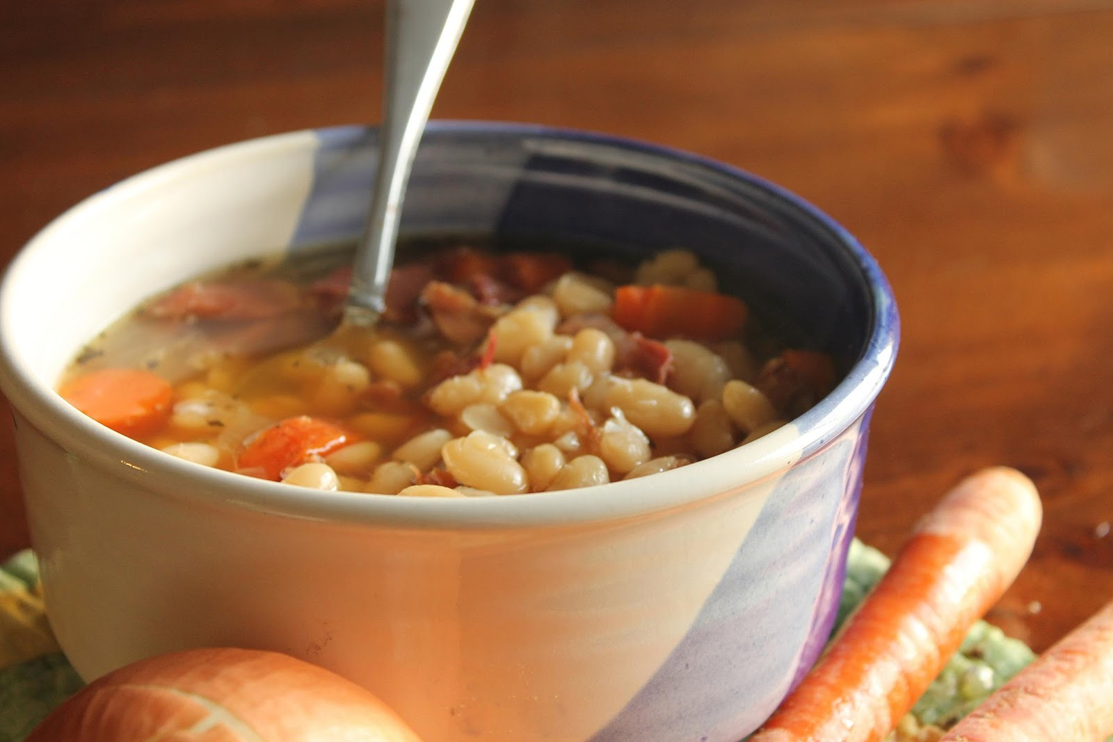 how to make homemade soup beans
