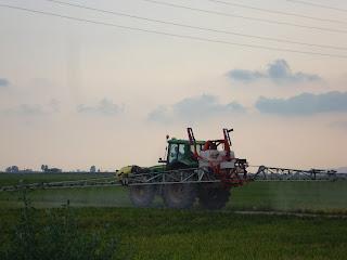Tractor Crop Spray - Sant Carles de La Rápita