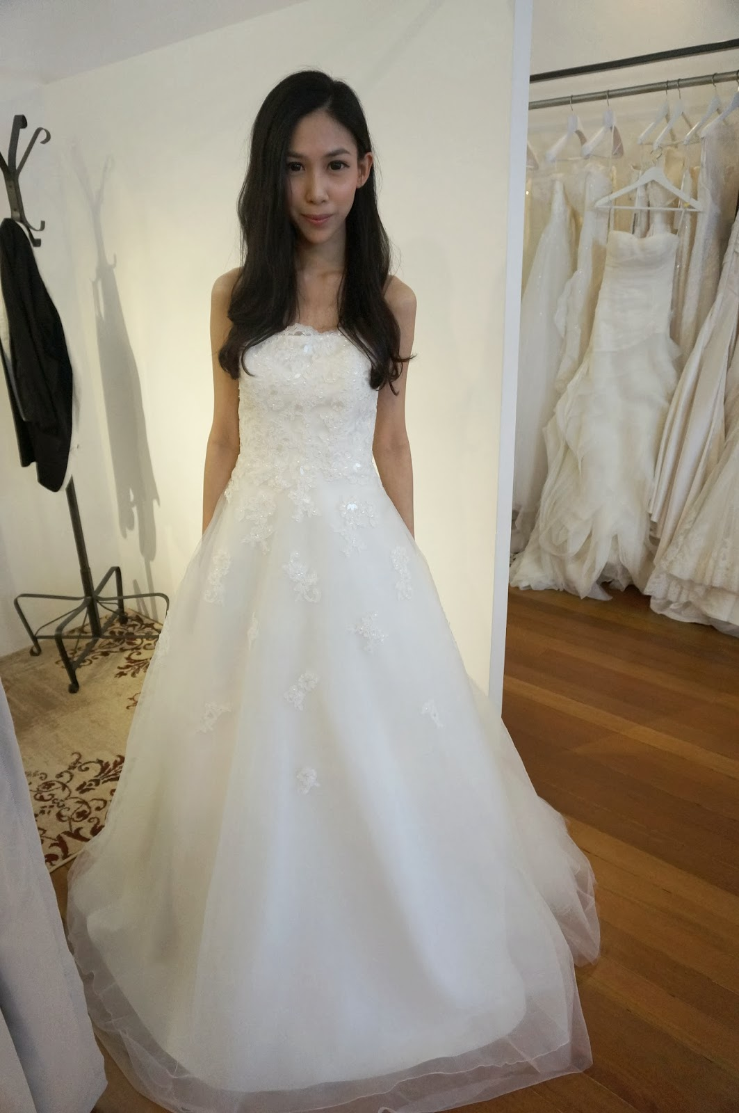 Satin Gown From Pronovias