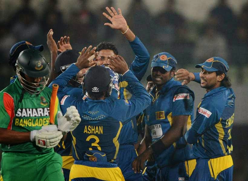 Sri Lanka beat Bangladesh in first ODI