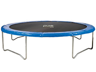 pure fun 14 foot trampoline