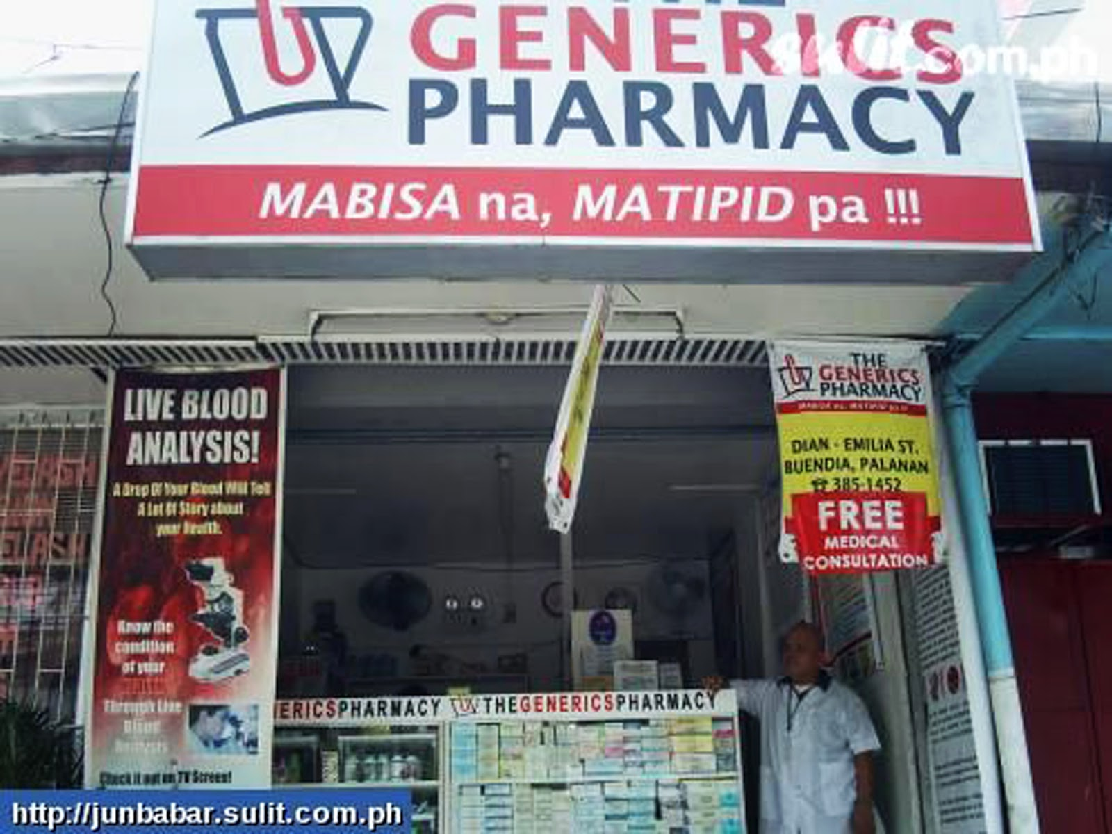 the generics pharmacy The generics pharmacy - kamuning road, quezon city (pharmacies) is located at 17a kamuning road, quezon city (beside delgado hospital), philippines more.
