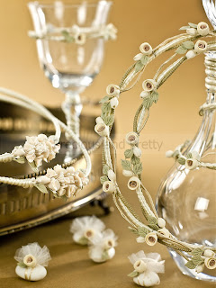 Wedding set in vintage style made in Greece
