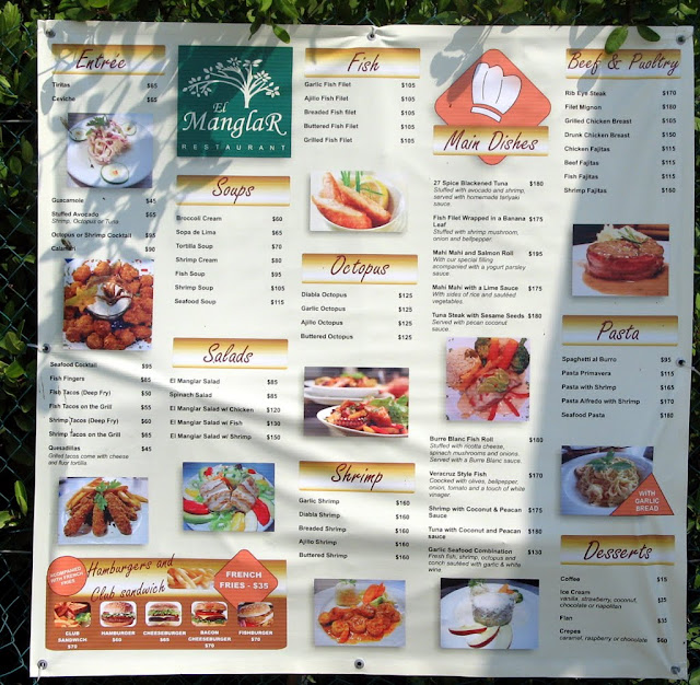 Mexican Restaurant Menu in Spanish And English English Menu For The Spanish