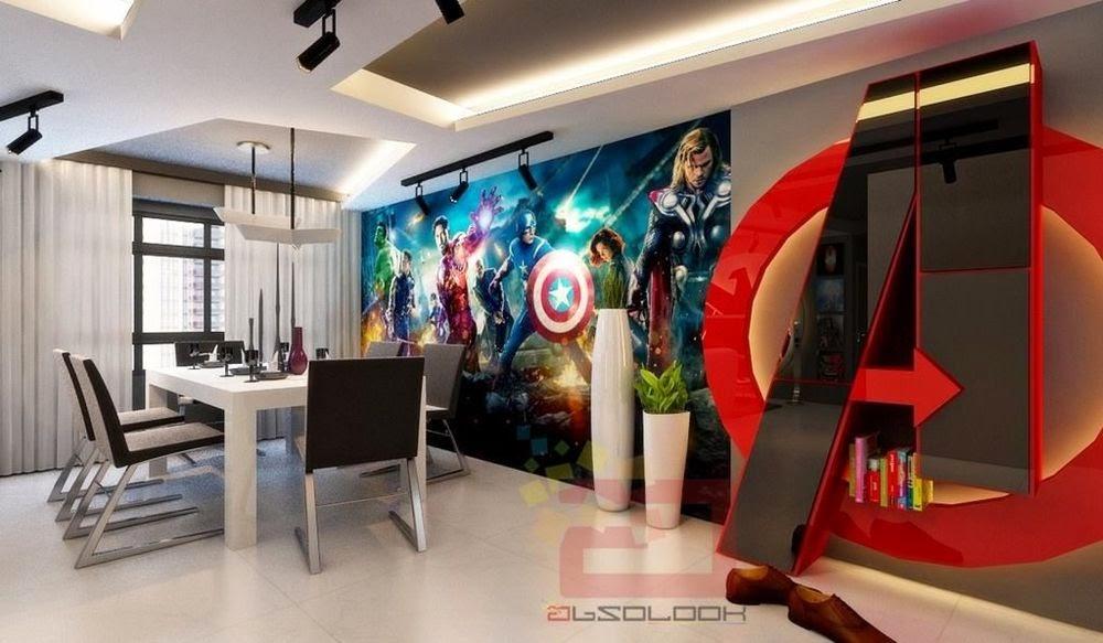 avengers theme home