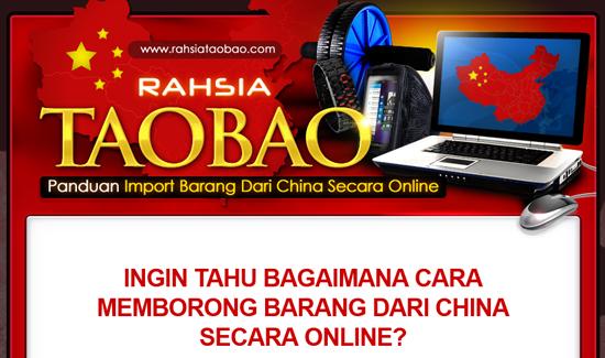 Panduan Cara Beli Import Barang China Secara Online