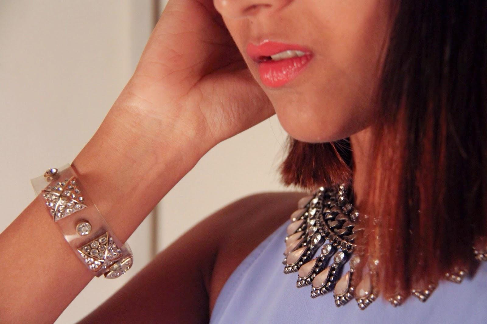 neckpiece vintage zara thrift