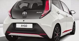 Trasera del nuevo Toyota Aygo
