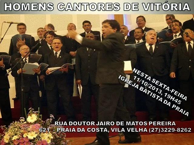 HOMENS CANTORES DE VITÓRIA
