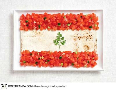 Bendera Nasional Lebanon