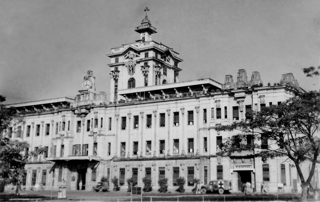 Arquitectura Manila University Of Santo Tomas Main Building