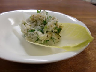 Crab Salad With Endive Recipe — Dishmaps