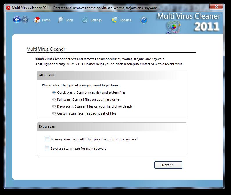 Multi Virus Cleaner Free - mixedsoft.com