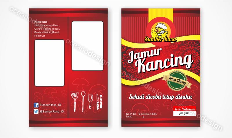 Desain Kemasan Snack Sumber Rasa - Jasa Desain Grafis Jogja