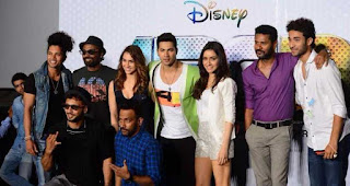 Remo D'Souza, Varun Dhawan, Shraddha Kapoor, Lauren Gottlieb, Prabhu Deva, dharmesh yelande, raghav juyal, Disney, Bollywood film ABCD2, Movies, 100 crores club, Any Body Can Dance 2