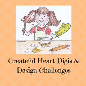 Createful Heart Digis & Design Challenges