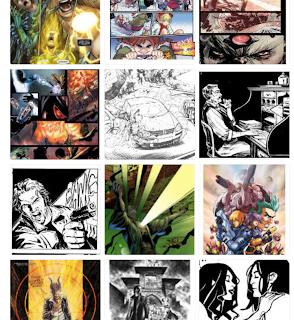 Comics Artist Area Lucca 2013