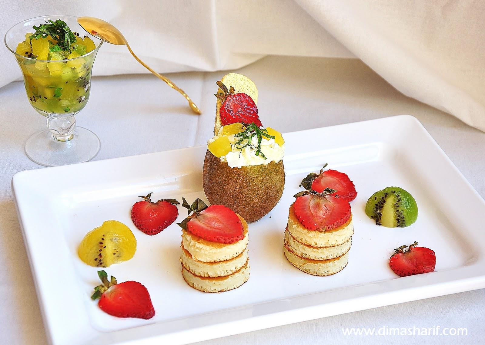 DIMA SHARIF: Golden Kiwis & The Ultimate Breakfast (pancakes, Whipped ...