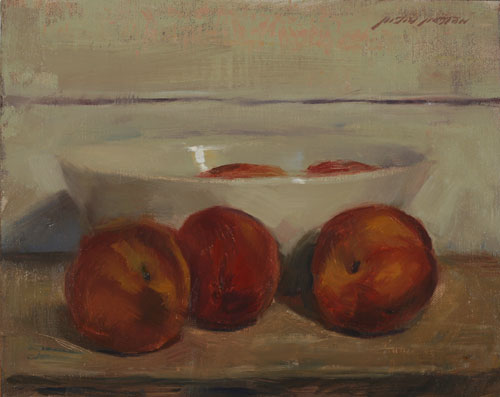 Best-jzaperoilpaintings-Peaches-and-Bowl-Oil-Paintings-Image
