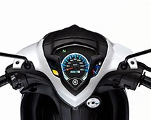 yamaha lagenda 115zr fuel injection 2013 blue led panel meter