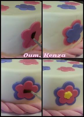 فن تزيين الكيك : طريقة تزيين الكيك بعجينة السكر بطريقة جد سهلة ومبسطة للمبتدئات