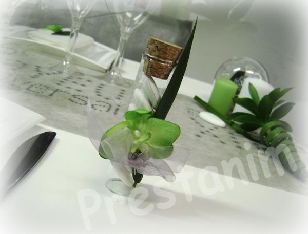 Ma d coration de mariage d corations table anniversaire nature en gris blanc - Nom de table pour mariage sans theme ...