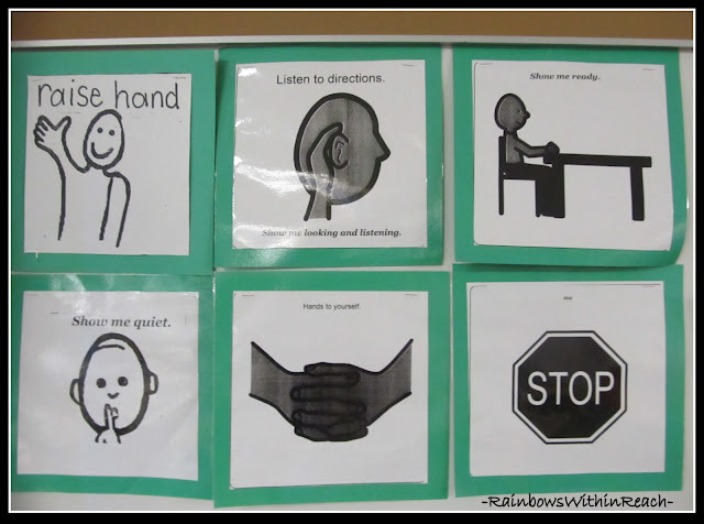 photo of: Positive Behavior for Classroom -- for Visual Learners