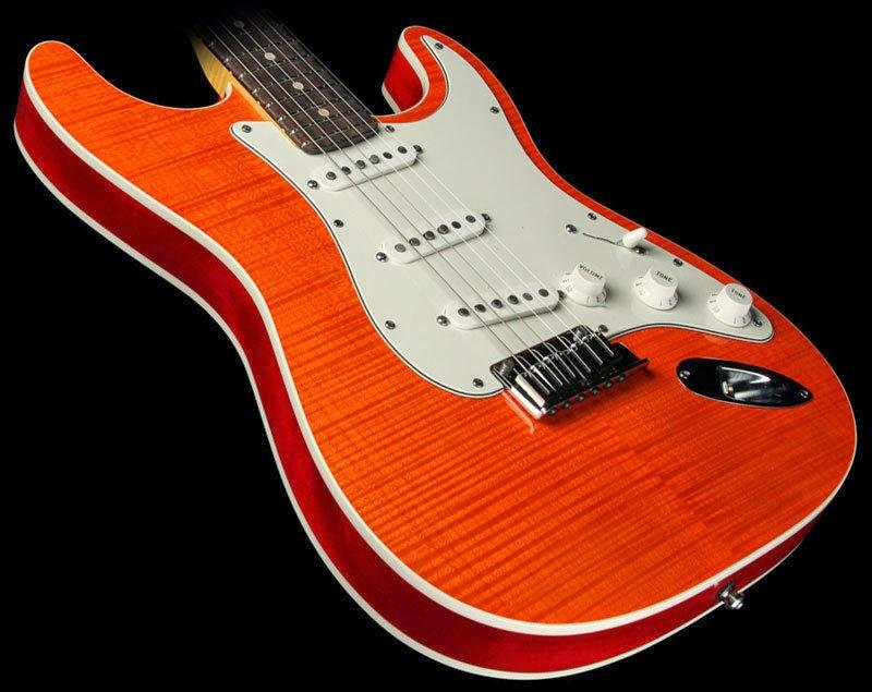 Fender Custom Shop Double Slab bound Stratocaster