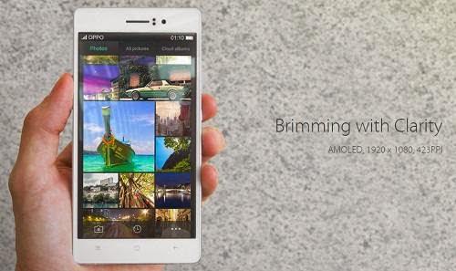 Harga Oppo R5, Ponsel Android Tertipis Di Dunia hanya 4.85 mm