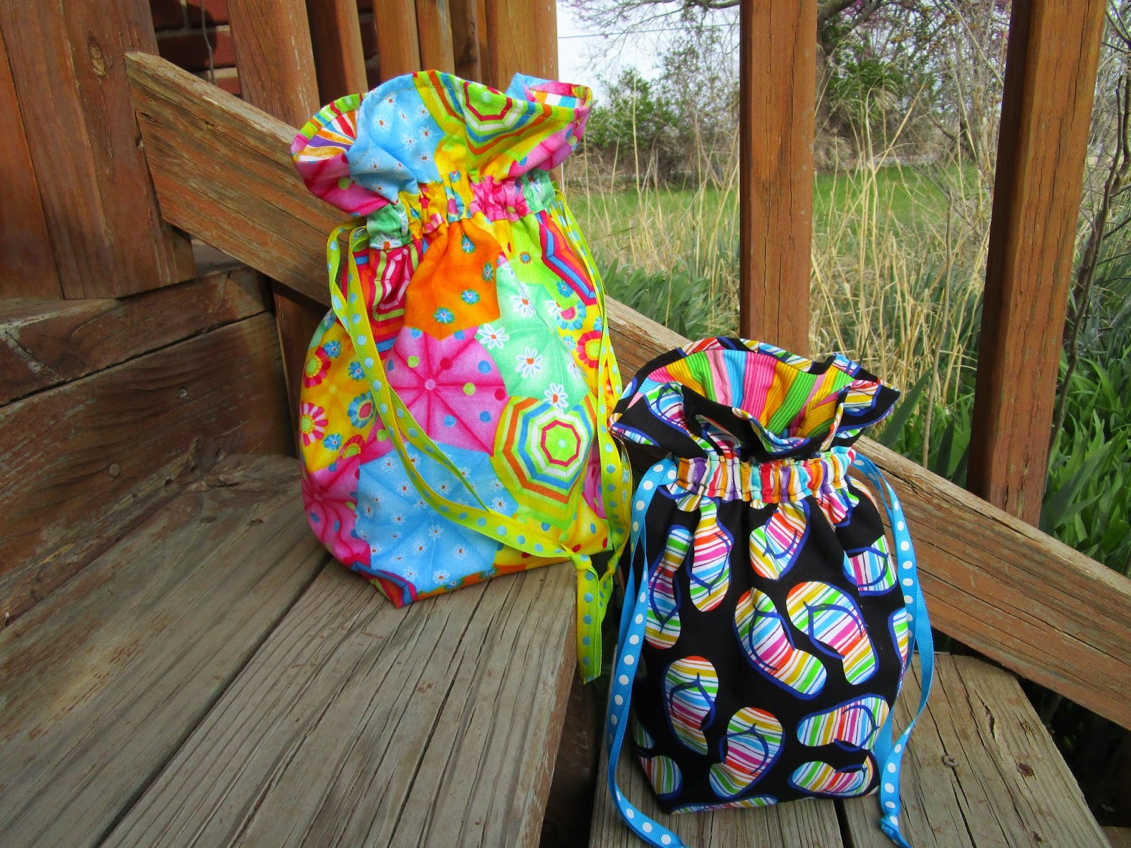 Here Are Photos Of The Three Finished Bags Arent They Cute