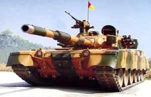 Pakistan is self sufficient & exporting main battle tanks like AlKhalid