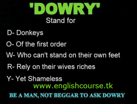 We Hate Dowry
