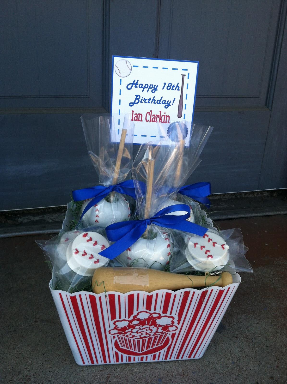 mkr creations edible baseball gift basket