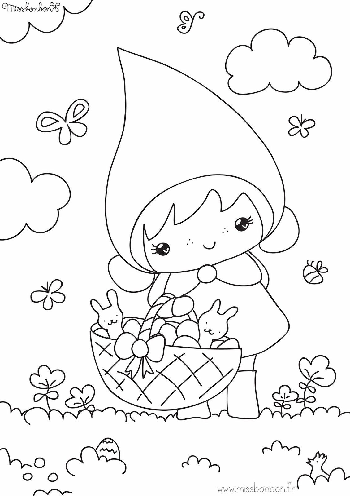 Coloriages d éveil pour bébé Tête à modeler - coloriage pour les petits