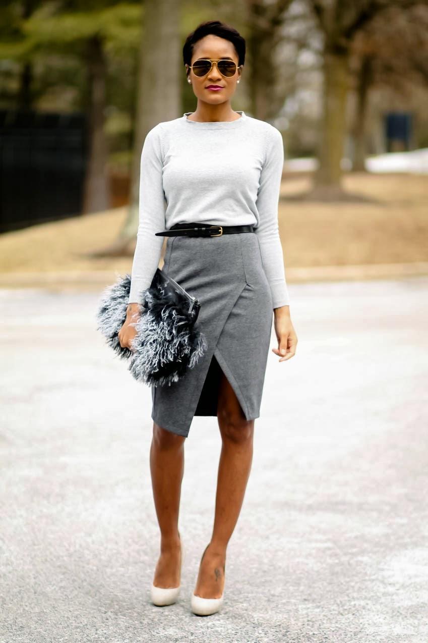 gray-skirt