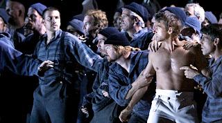 Scene from Billy Budd at San Francisco Opera, 2004 (c) Darryl Bush/ San Francisco Chronicle