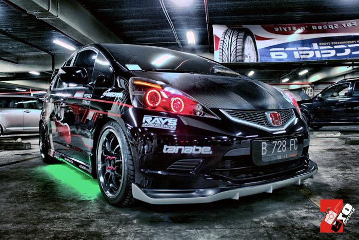Vios Black Modified >> Otomotif: Honda Jazz Modification (Black Spoon)