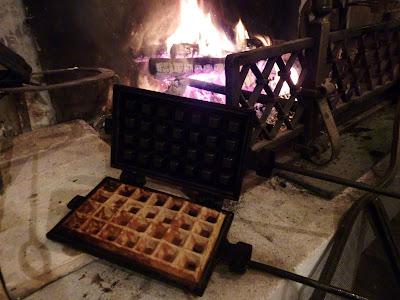 gauffres à la cheminée