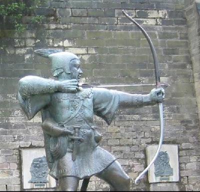 Patung-Robin-Hood