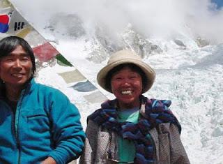 японка альпинист