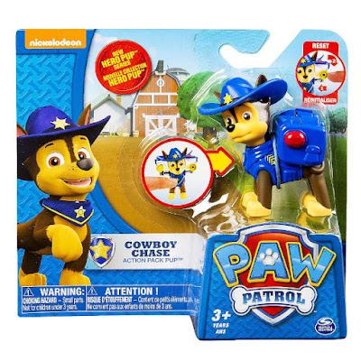 TOYS : JUGUETES - PAW PATROL : La Patrulla Canina Cowboy Chase | Hero Pup | Figura - Muñeco Producto Oficial Serie TV Nickelodeon 2015 | A partir de 3 años Comprar en Amazon España & buy Amazon USA