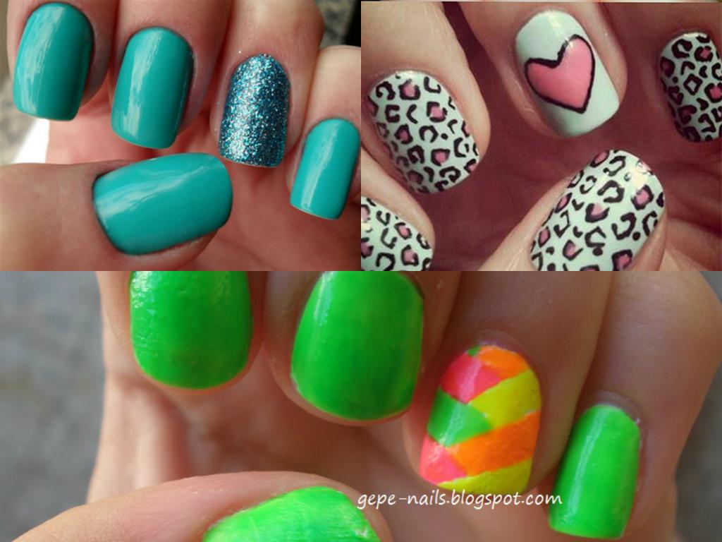 Mi Cabeza Esta En Otro Mundo: Mi top 5: Decorado de uñas