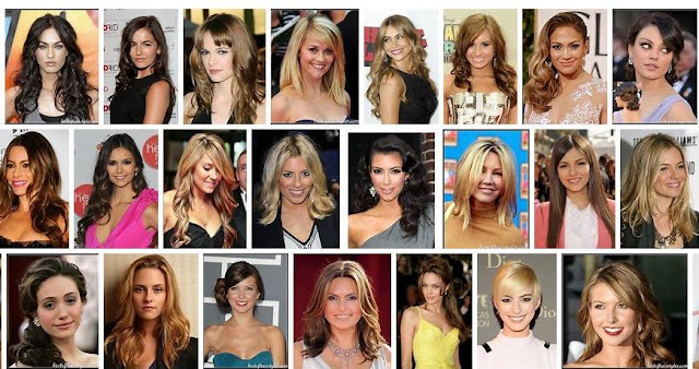 Model rambut artis / selebritis