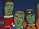 Zombi Futbol Takımı Oyunu