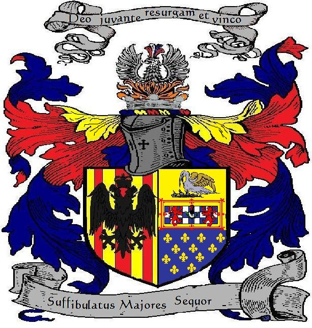 Coat of Arms in Grand Achievement