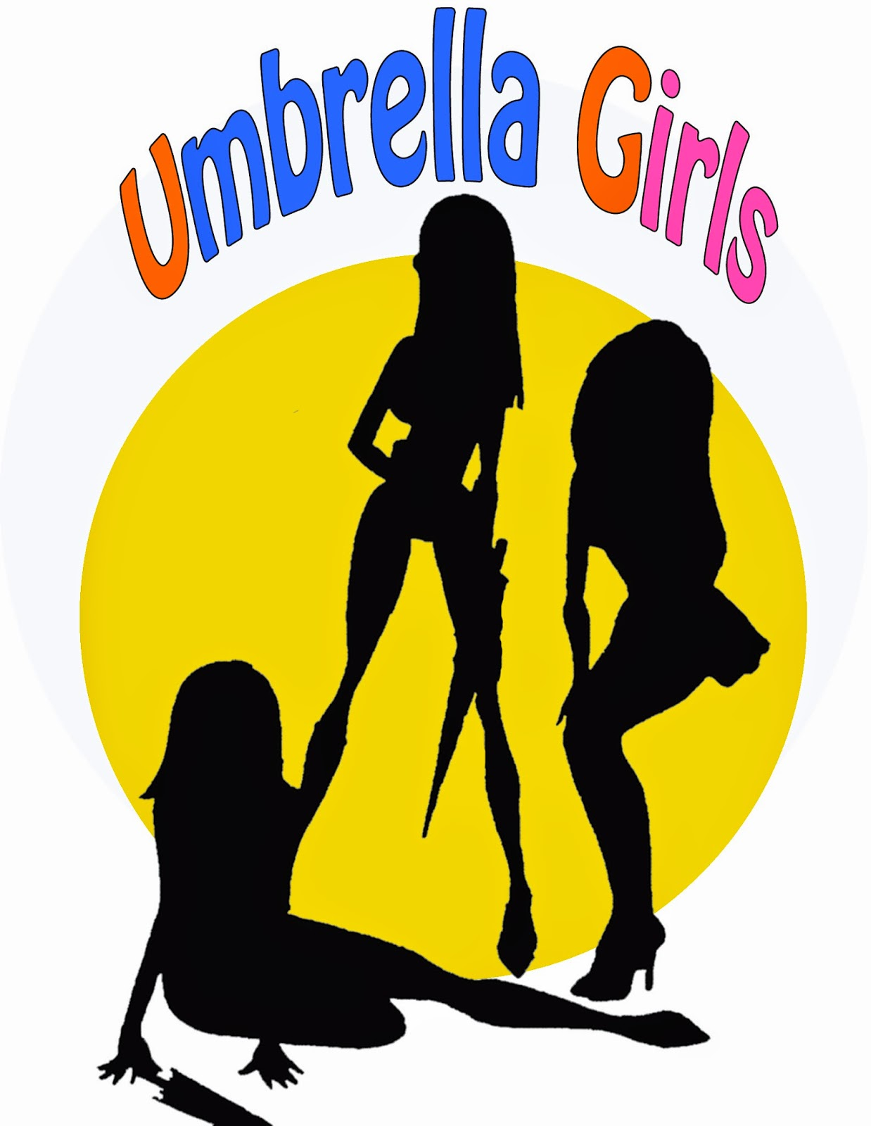 Cartone animato umbrella girls