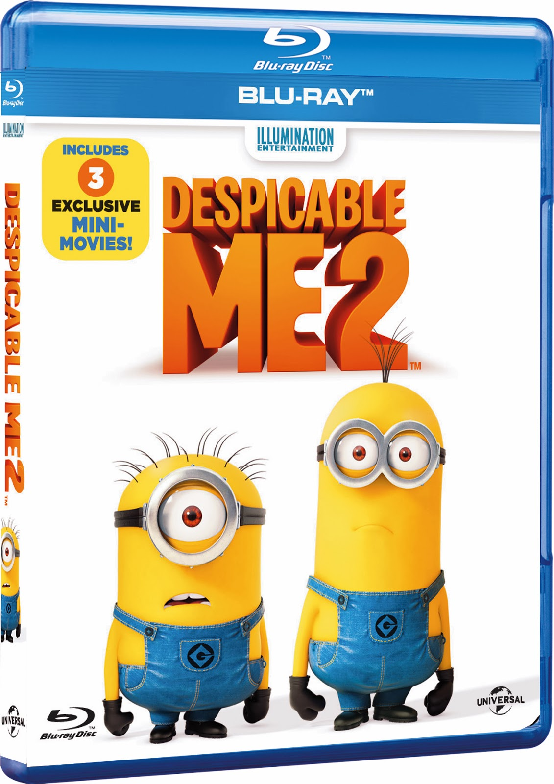 Despicable Me now out on DVD and Blu-ray! - Mix of Everything