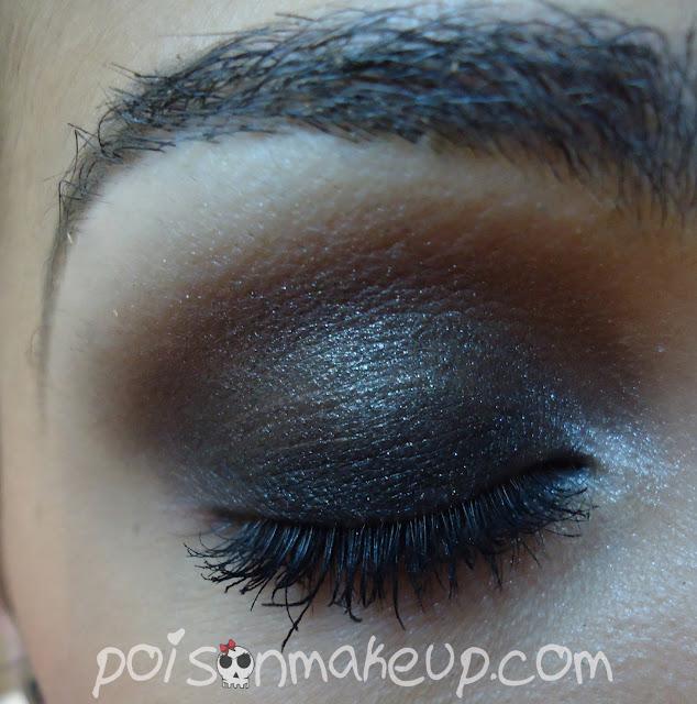 Olho com marrom e preto