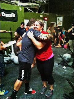 Rob Orlando and me - Strongman Southeast Tour