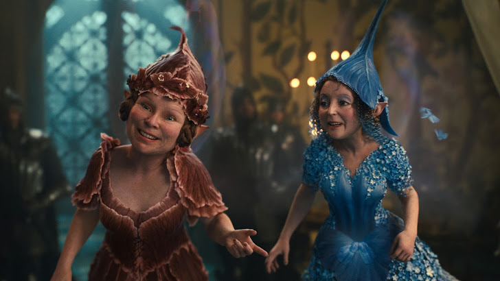 fairies / fairy godmother in maleficent movie 2014 hd